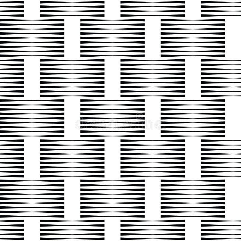 半音样式背景 普遍传染媒介无缝的样式 在白色背景的半音线 皇族释放例证