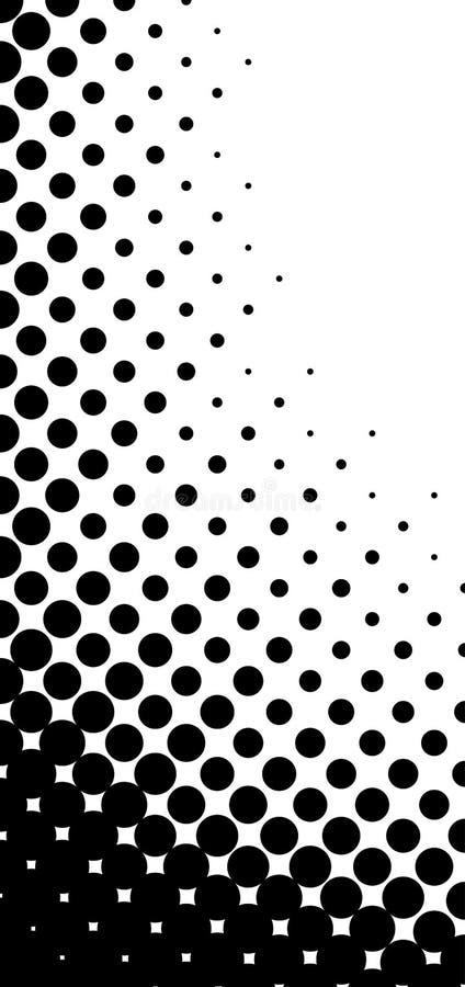 半音模式向量 库存例证