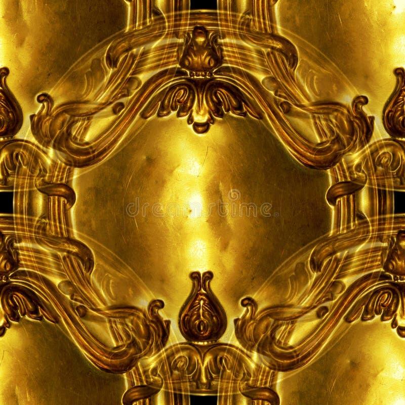 华丽古色古香的背景的设计 免版税图库摄影