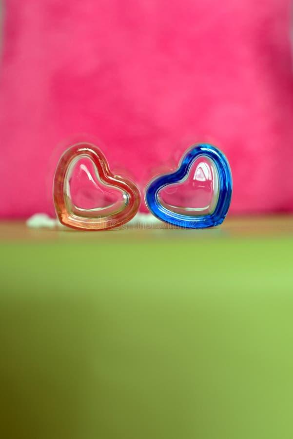 华伦泰的心脏形状 免版税图库摄影