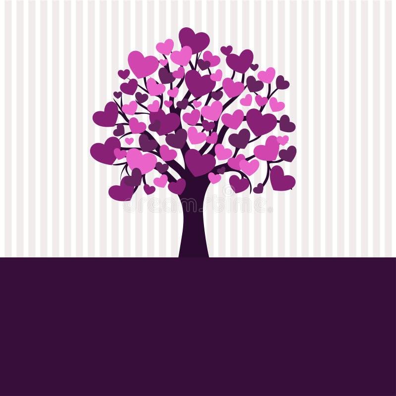 华伦泰结构树 库存例证