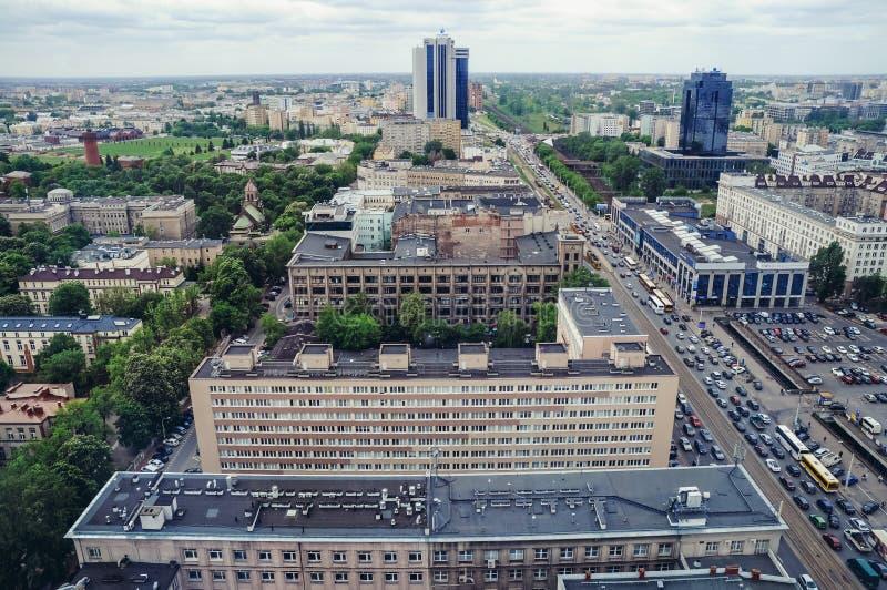 华沙在波兰 免版税库存照片
