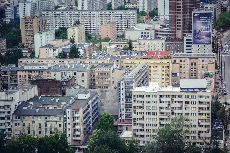 华沙在波兰 免版税图库摄影
