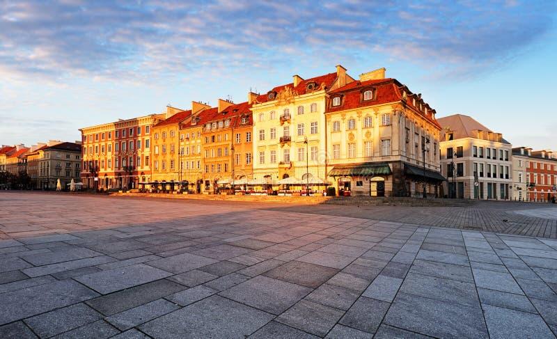 华沙市,波兰 免版税库存照片