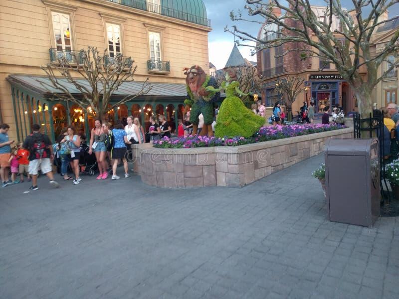华特・迪士尼世界法国镇 库存照片
