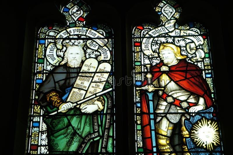 华盛顿全国大教堂-彩色玻璃 免版税库存图片