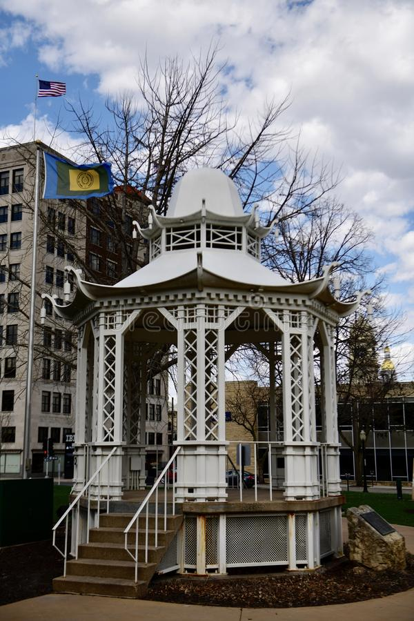 华盛顿公园眺望台 免版税库存图片
