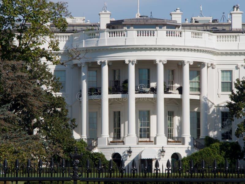 华盛顿特区的总统白宫 免版税库存图片