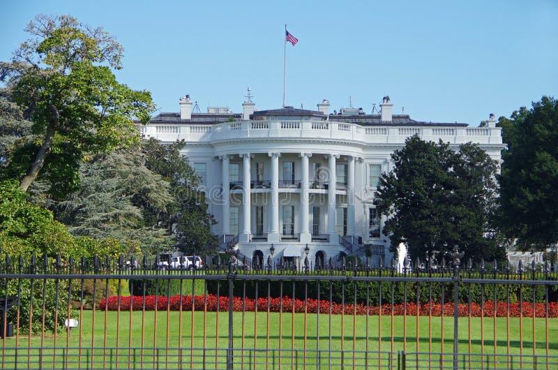 华盛顿特区,美国- 2017年9月27日:华盛顿特区的白宫,美国 库存照片