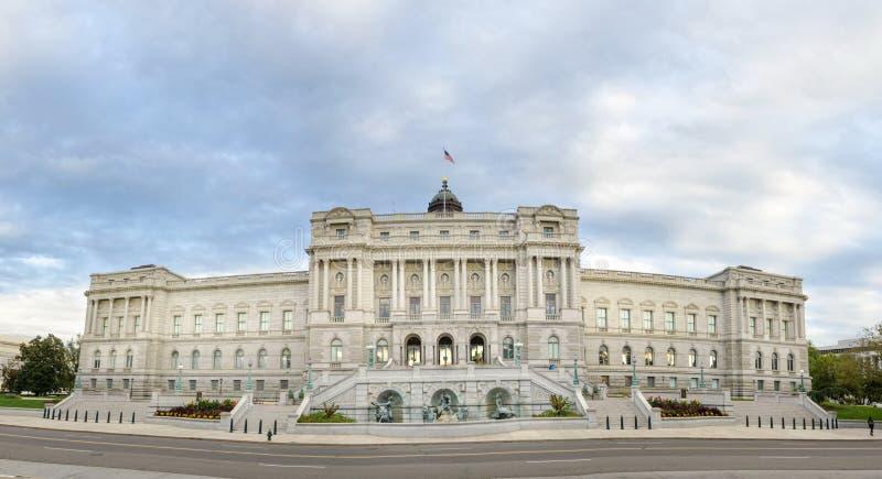 华盛顿特区,美国- 2016年10月21日:国会图书馆f 图库摄影