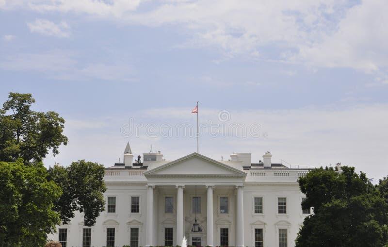 华盛顿特区, 2017年7月4日:从华盛顿哥伦比亚区的白宫大厦在美国 库存照片