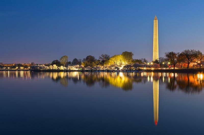 华盛顿特区黎明纪念碑 免版税库存图片