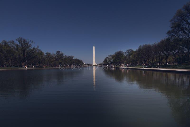 华盛顿纪念品 库存照片