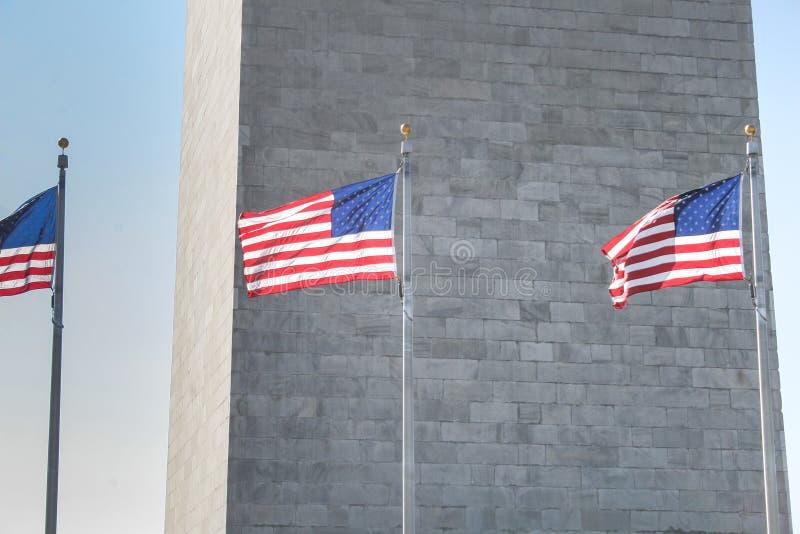 华盛顿纪念碑 库存照片