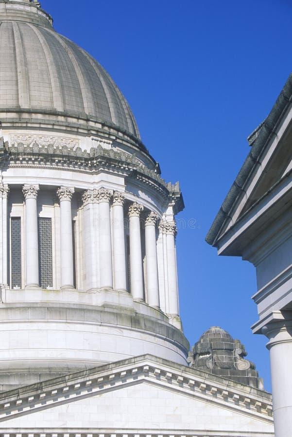 华盛顿,奥林匹亚状态国会大厦  免版税库存图片