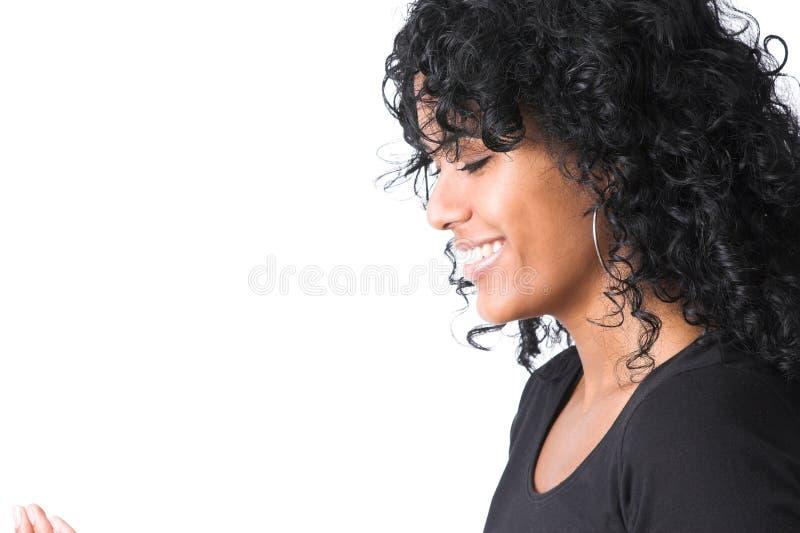 华美的微笑 图库摄影