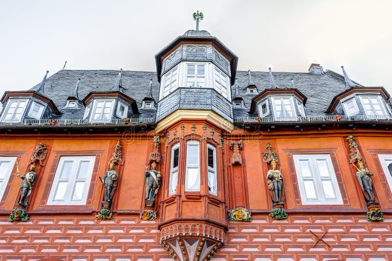 协会房子在戈斯拉尔 免版税库存图片