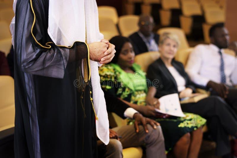 协会联盟会议研讨会会议 免版税库存照片