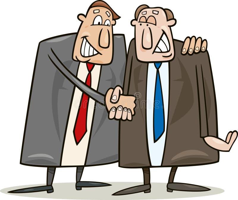 协议政客 向量例证
