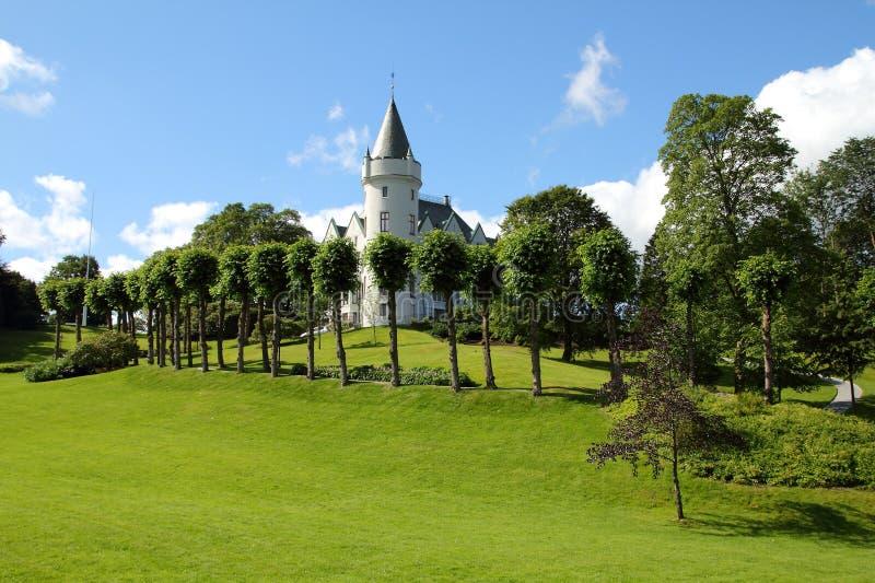 卑尔根,挪威 免版税库存图片