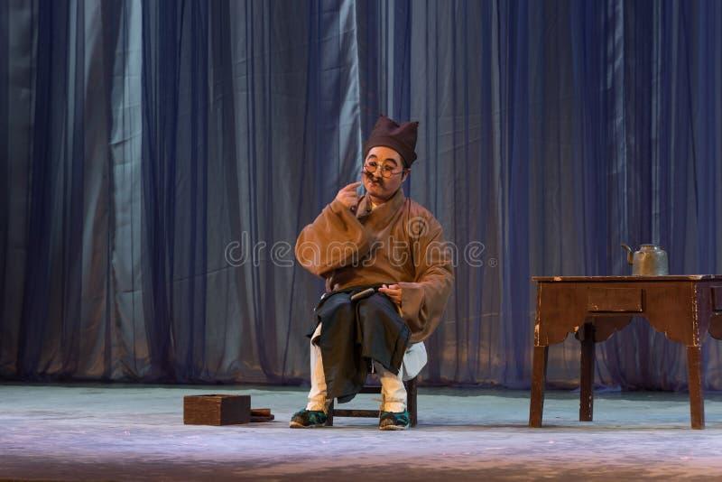 卓著的年轻歌剧执行者的鞋匠报告 免版税库存图片
