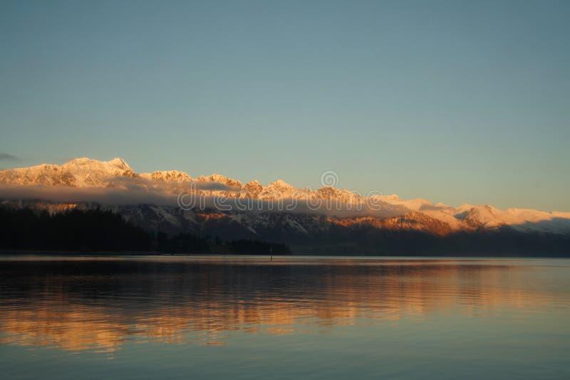 卓越的山脉 库存照片