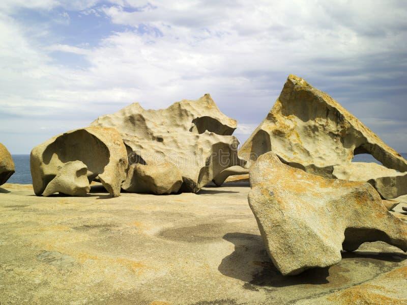 卓越的岩石 库存图片