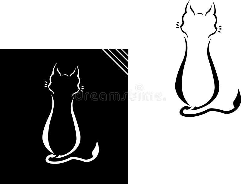 单独猫 免版税库存图片