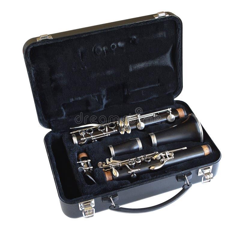 单簧管,万一 库存照片