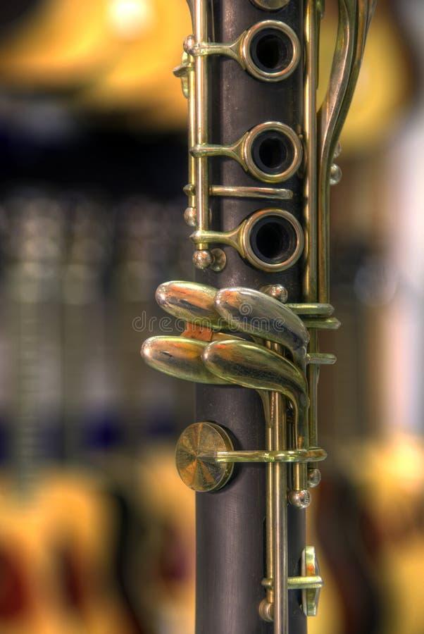单簧管 免版税图库摄影