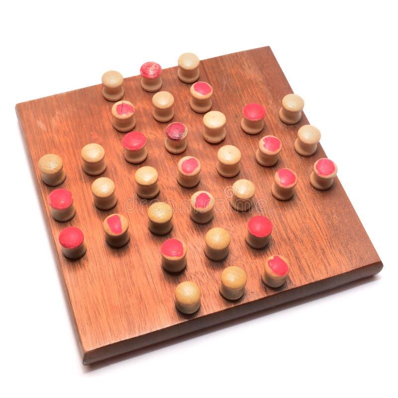 单粒宝石比赛 免版税库存照片