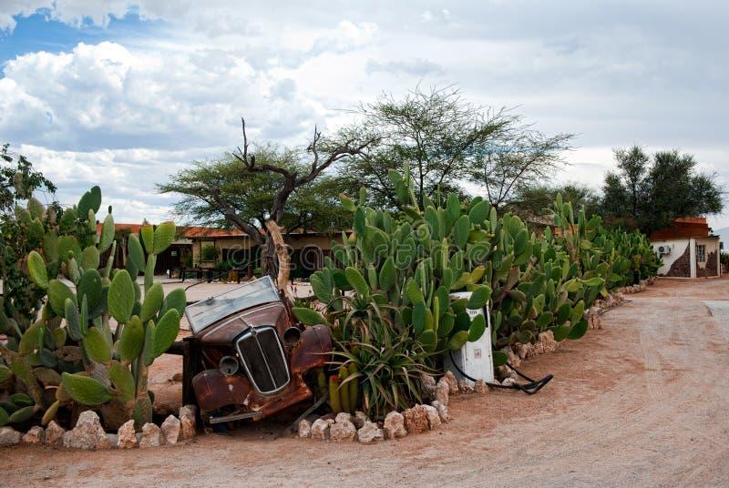 单粒宝石,纳米比亚,非洲 免版税图库摄影