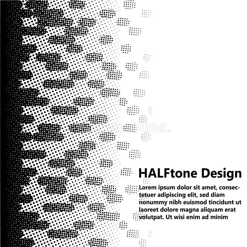 单色半音设计 免版税图库摄影