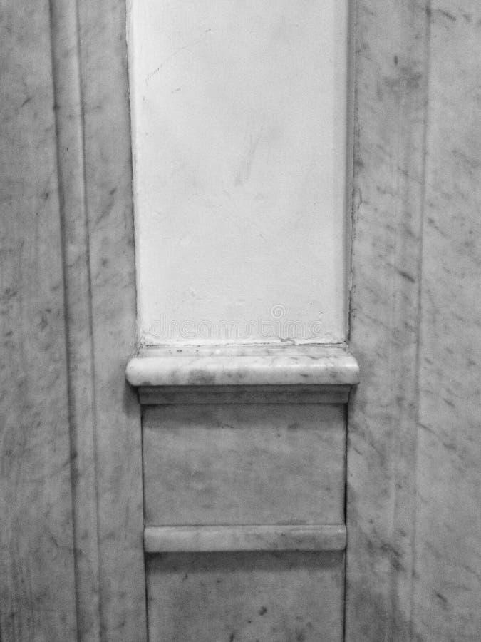 单色建筑墙壁 库存图片