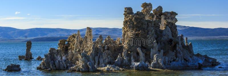 单音湖凝灰岩 库存图片