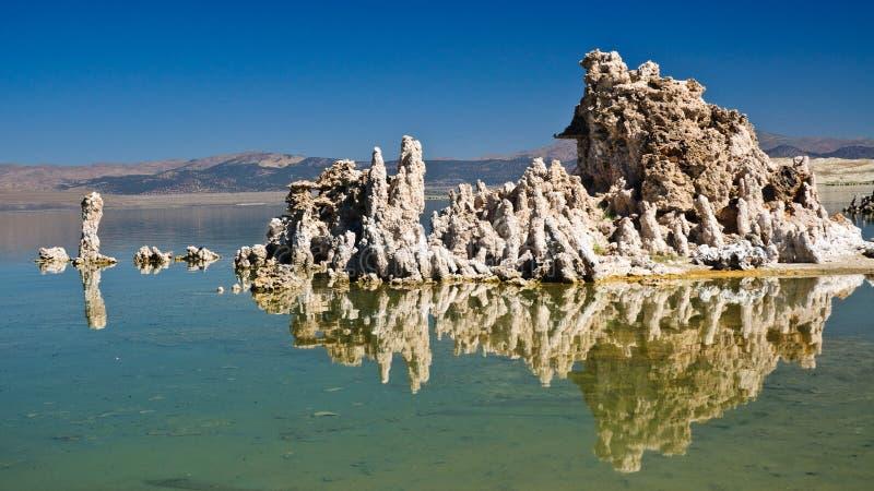 单音湖,加利福尼亚 库存图片