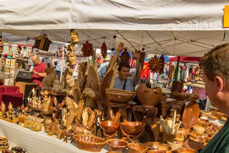 """卖工艺†""""萨利姆,弗吉尼亚,美国的工匠 库存照片"""