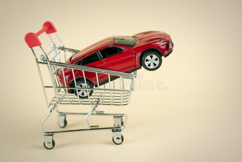 卖汽车的购买 免版税库存照片