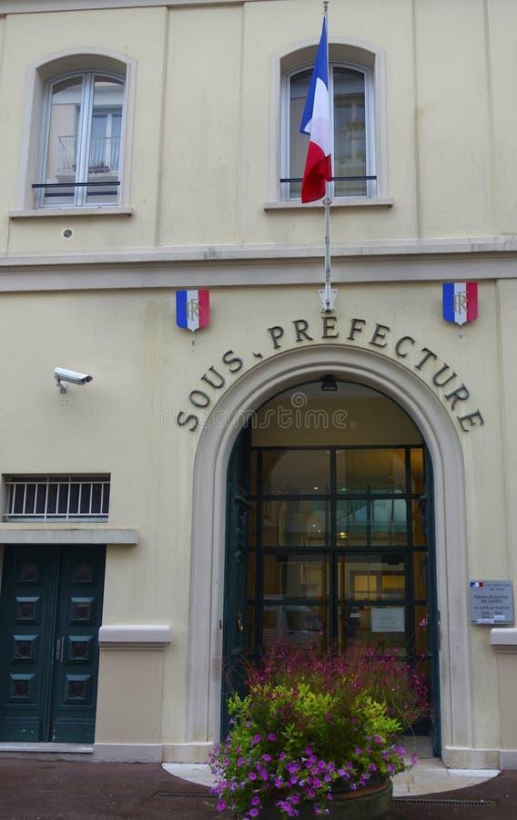 南专区在维琪,法国 免版税库存照片