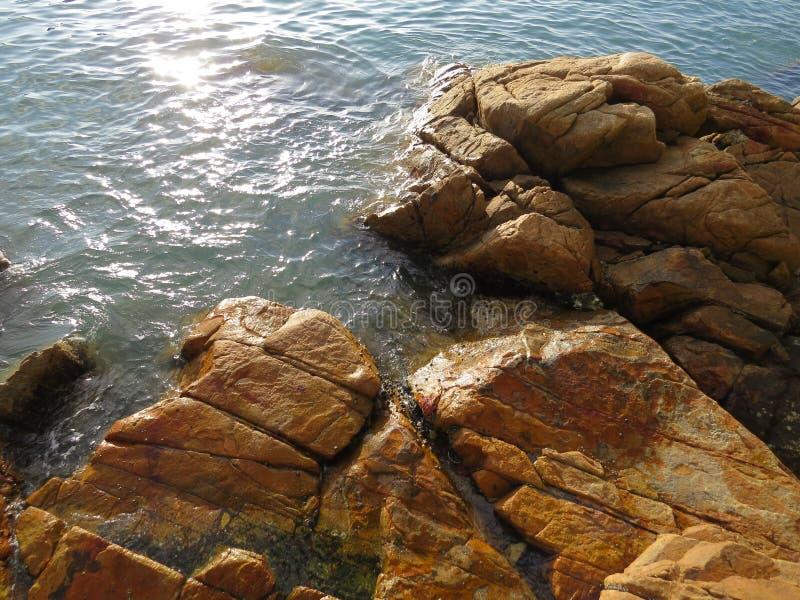 南丫岛海边风景 免版税图库摄影