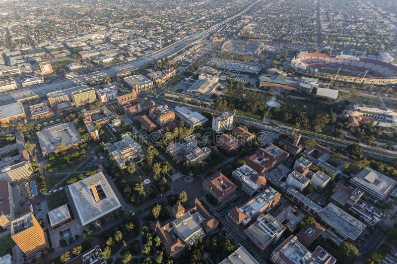 南加州大学天线在洛杉矶 免版税库存照片