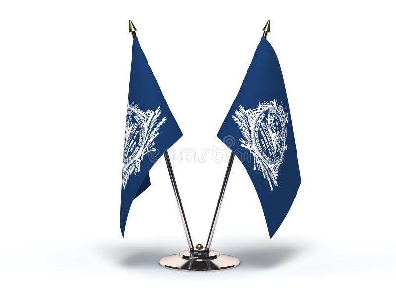 南卡罗来纳查尔斯顿旗子 向量例证