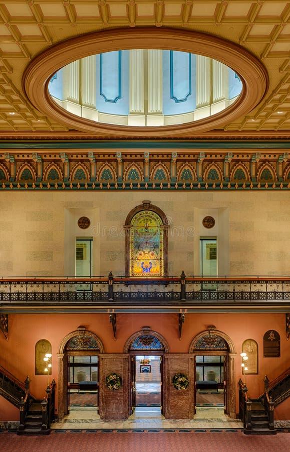 南卡罗来纳状态议院大厅 库存照片