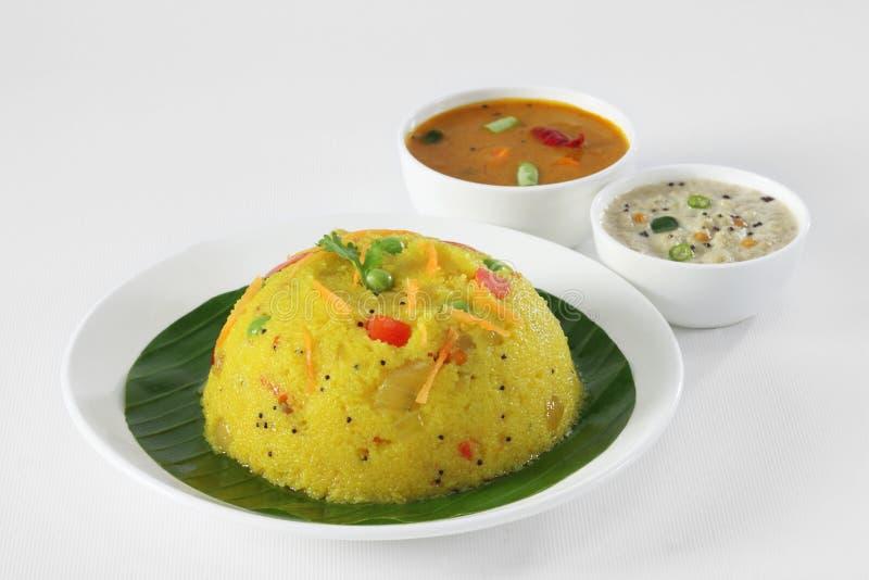 南印地安食物 免版税库存照片