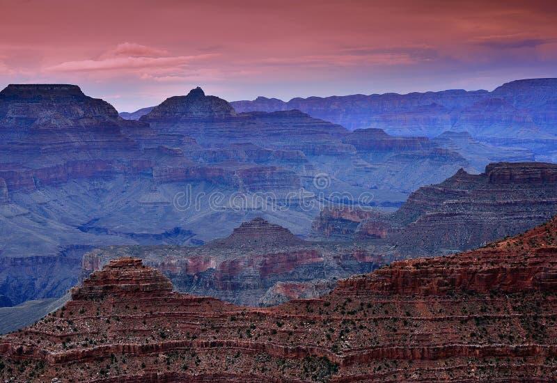 南外缘大峡谷,亚利桑那,美国 免版税图库摄影