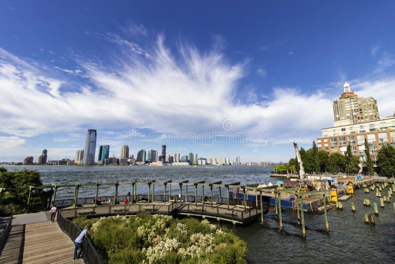 南小海湾公园在纽约 免版税库存图片