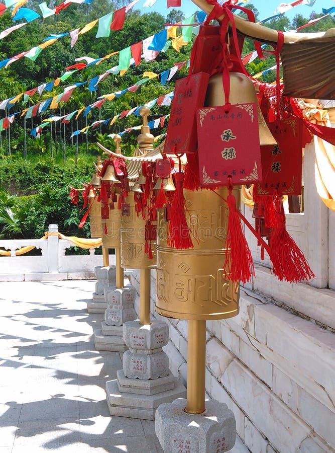 南山寺在三亚,海南在中国 免版税库存图片