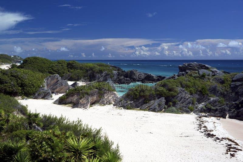 南岸公园-沃里克教区,百慕大 库存照片