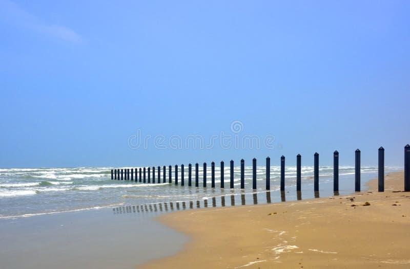 南得克萨斯海边视图 免版税图库摄影