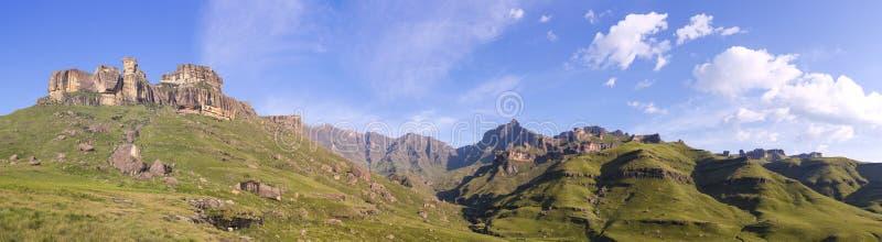 南德拉肯斯山脉 库存照片